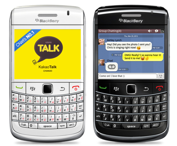 kakaotalk blackberry 1