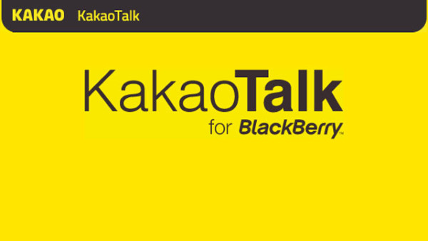 kakaotalk blackberry 2