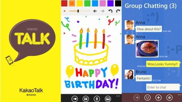 kakaotalk windowsphone 3