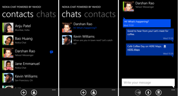 kakaotalk windowsphone tablet 2